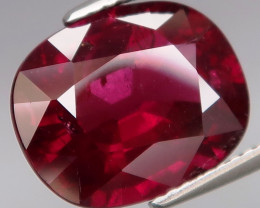 8.64 Ct. Natural Earth Mined Cherry Red Rhodolite Garnet Africa