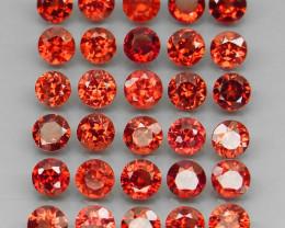 10.48 ct. Natural Earth Mined Rhodolite Garnet Africa - 30 Pcs