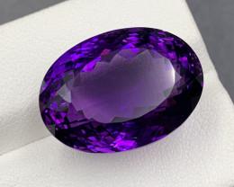 27.50 Ct Amethyst Gemstone