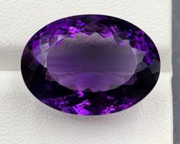 31.55 Ct Amethyst Gemstone