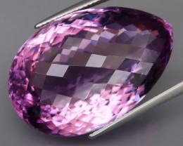 49.21 ct 100% Natural Earth Mined Unheated Purple Amethyst,Bolivia