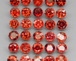 10.75 ct. Natural Earth Mined Rhodolite Garnet Africa - 30 Pcs