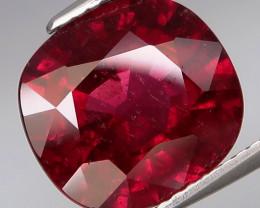 6.19 Ct.100% Natural Earth Mined  Cherry  Rhodolite Garnet