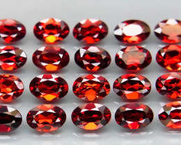 10.70 ct. Natural Earth Mined Rhodolite Garnet Africa 20Pcs