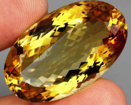 69.90 ct. 100% Natural Unheated Top Quality Yellow Golden Citrine Brazil