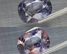 3.76 ct  Sapphire Stunning!   Color Change CERTIFIED Unheated