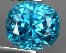 1.80 CTS AWESOME SPARKLE NATURAL RARE BEST BLUE ZIRCON~EXCELLENT!