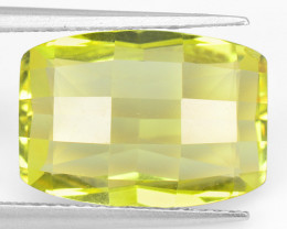 6.58 Cts  Natural Lemon Quartz Gemstonestone