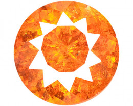 *NoReserve*Sphalerite 1.31 Cts Natural Rare Top Fired Sunset Orange Color
