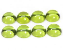 5.20 Cts 8Pcs Green Color Natural BURMA Peridot Gemstones