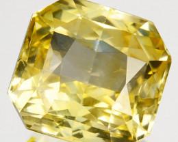 10.06 Cts Natural Yellow Sapphire  Unheated Sri Lanka