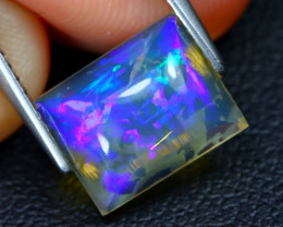 2.41Ct Australian Lightning Ridge Dark Crystal Opal C1812