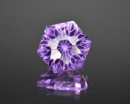 Natural  Amethyst 11.14 Cts Perfectly Cut Gemstone