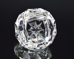 Natural Topaz 24.27 Cts Perfect Precision Cut , Outstanding Design