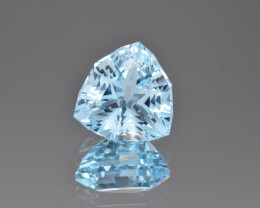 Natural Blue Topaz 9.29 Cts Perfect Precision Cut
