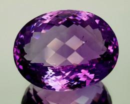 35Crt Natural Amethyst Natural Gemstones JI10