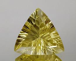4.69Crt Lemon Quartz Concave Cut Natural Gemstones JI10