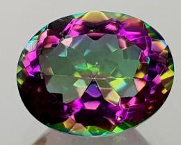 2.47Crt Mystic Quartz Natural Gemstones JI10