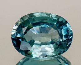 2.53Crt Blue Zircon Natural Gemstones JI10