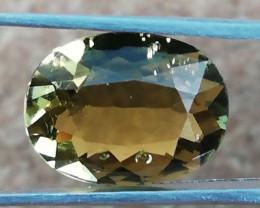 Tourmaline, 2.64ct, beautiful golden tourmaline perfect for jewelery!!