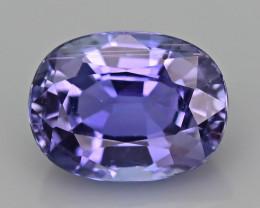 AAA Grade 1.15 ct Tanzanite eye catching Color SKU.28
