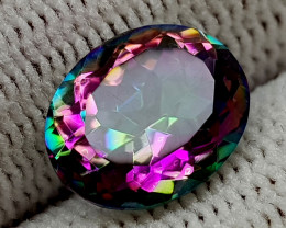 2.37CT MYSTIC QUARTZ BEST QUALITY GEMSTONE IIGC35