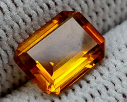 1.21CT MADEIRA CITRINE  BEST QUALITY GEMSTONE IIGC35