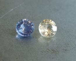 1.52ct unheated sapphires