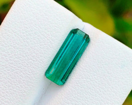 2.65 carats Greenish Blue colour Tourmaline Gemstone From Afghanistan