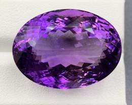 67.18 Ct Amethyst Gemstone
