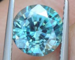 Blue Zircon from Cambodia,