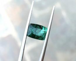 2.50 Ct Natural Greenish Transparent Tourmaline Gemstone