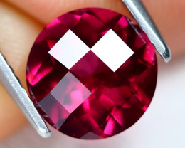 Rhodolite Garnet 2.33Ct VS2 Pixalated Cut Natural Rhodolite Garnet C2007
