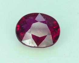 AAA Color 1.25ct Rubelite Tourmaline~K