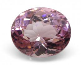 2.70ct Oval Pink Tourmaline