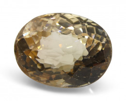 3.55ct Oval Yellow Tourmaline