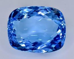 42.72 Crt  Topaz Faceted Gemstone (Rk-3)