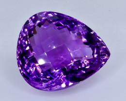 26.67 Crt  Amethyst Faceted Gemstone (Rk-3)