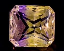 3.06 Crt  Ametrine Faceted Gemstone (Rk-3)