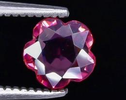 0.81 Crt  Grape Garnet Faceted Gemstone (Rk-3)