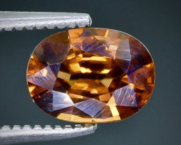 1.89 Crt  Zircon Faceted Gemstone (Rk-3)