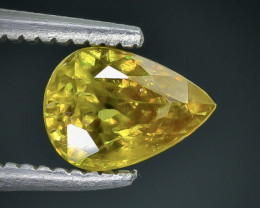 0.83 Crt  Sphene Faceted Gemstone (Rk-3)