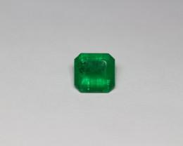 2.13 Carats Top Green AFGHAN (Panjshir) Emerald!
