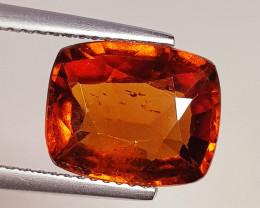 5.44 ct Excellent Gem Rectangle Cut Top Luster Hessonite Garnet