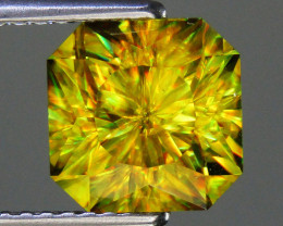 Sphene 2.66 ct Custom Cut Sphene Gemstone