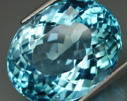 34.65 ct. 100% Natural Earth Mined Top Quality Blue Topaz Brazil