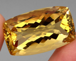 60.73 ct. 100% Natural Unheated Top Quality Yellow Golden Citrine Brazil