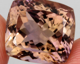 18.16 ct. 100% Natural Earth Mined Top Quality Ametrine Bolivia Unheated