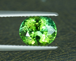 NEON APPLE 2.25CT ELECTRIC GREEN COLOR TOURMALINE $1NR!