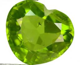 3.11 Cts Green Color Natural Peridot Gemstone